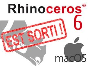 Rhino 6 Mac:  enfin disponible !