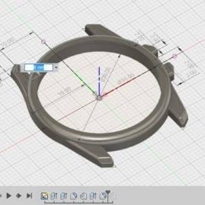 modification paramétrique fusion360