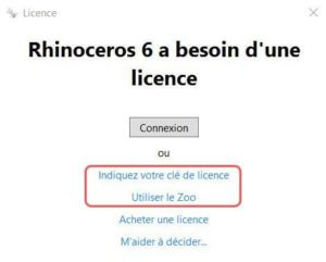 activation licence rhinoceros 3d